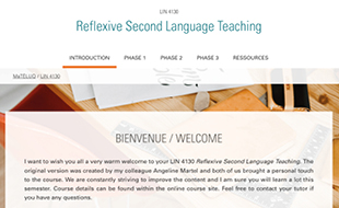 LIN 4130 - Reflexive Second Language Teaching