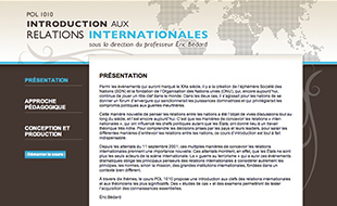 formation a distance relations internationales